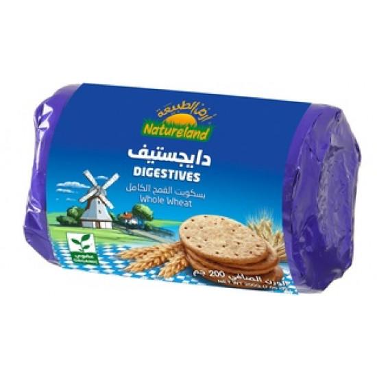 whole wheat digestives