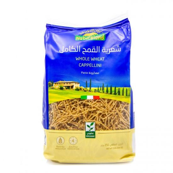 Natureland Whole Wheat Cappellini 250g