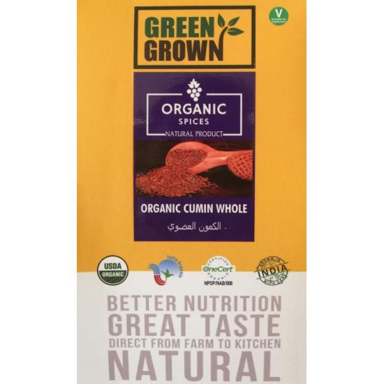 GREEN GROWN ORGANIC 100g CUMIN WHOLE