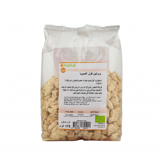 MARKAL 175GM ORGANIC SOY PROTEIN LARGE PIECES