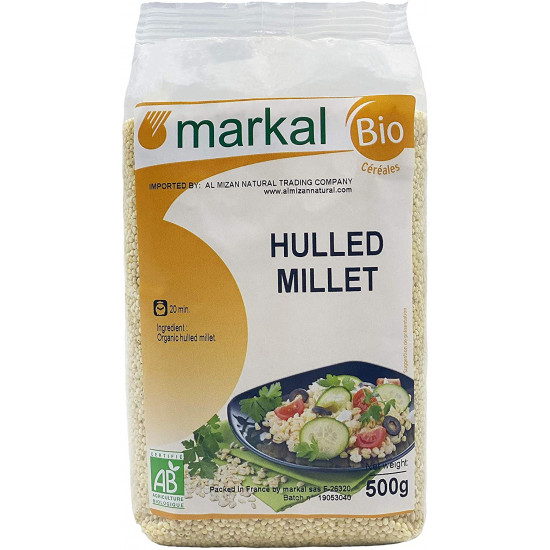 MARKAL 500 GM ORGANIC HULLED MILLET