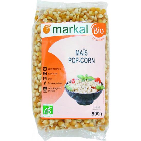 MARKAL 500GM ORGANIC POP CORN
